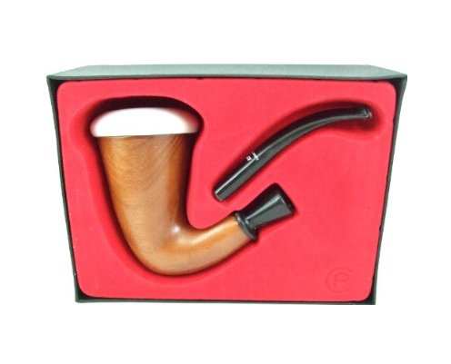 Briar Calabash Pipe in a Case for Sale